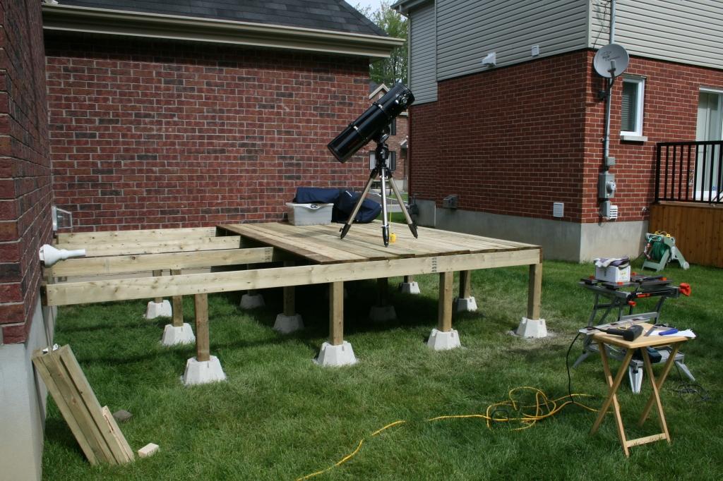Deck under construction 3
