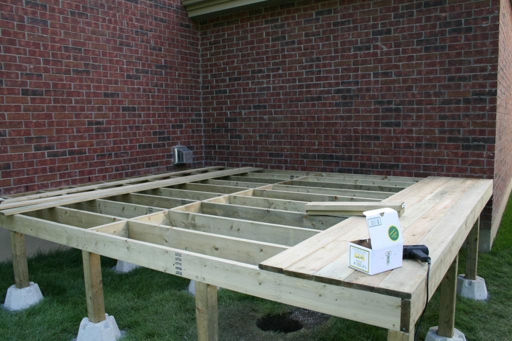 Deck under construction 2