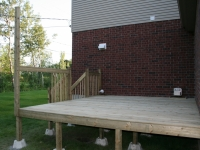 Deck under contruction